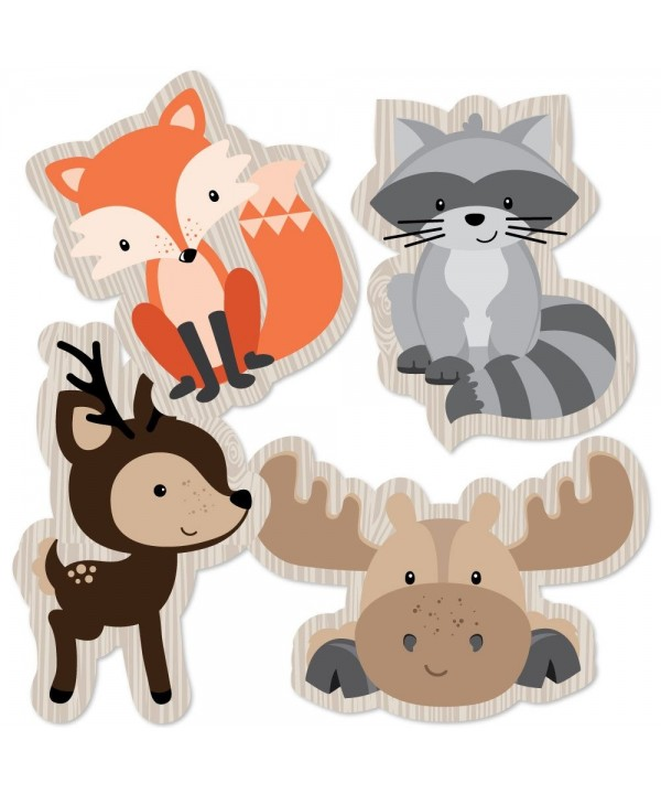 Woodland Creatures Decorations Birthday Essentials