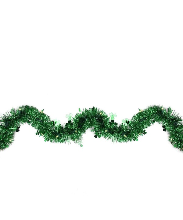 Northlight Pre Lit Shamrock Patricks Garland