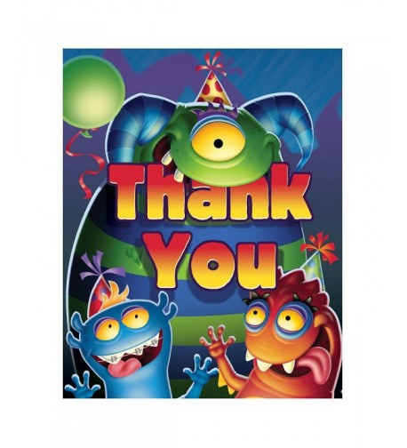 Monster Mania Thank You Notes Accessory