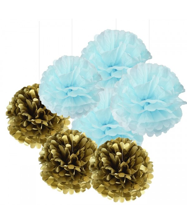 Decorations Furuix PomPoms Wedding Birthday
