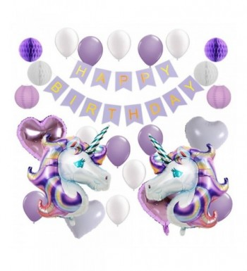 balloons Lavender Lanterns decorations Birthday