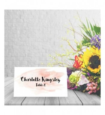 New Trendy Bridal Shower Table Place Cards & Place Card Holders Online