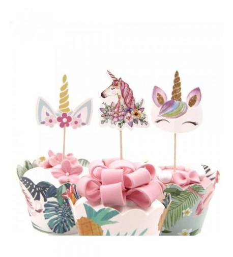 DPIST Unicorn birthday supplies decorations