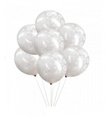 100PCS Christmas Snowflake Balloons Decorations