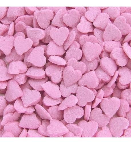 Natural Pink Gluten Confetti Valentine Hearts