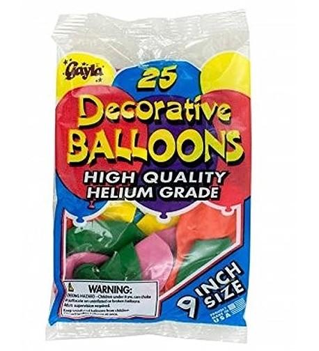 Helium Grade Latex Balloons Pack