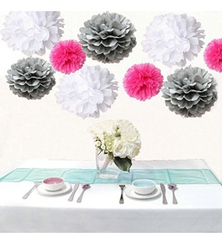 Saitec Silver Wedding Birthday Decoration