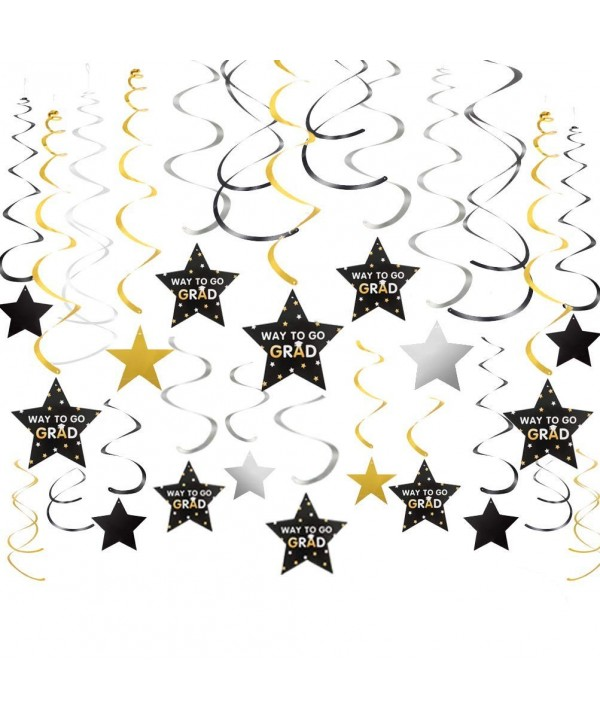 Graduation Garland Hanging Decoration silver