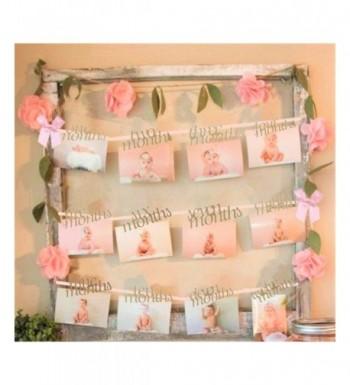JeVenis Shower Months Banner Birthday