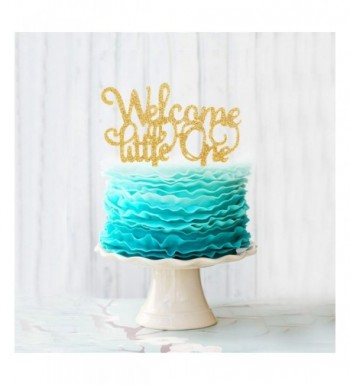 Welcome Glitter Celebrate Birthday Decoration