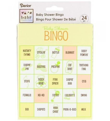 Darice Shower Bingo Supplies Assorted