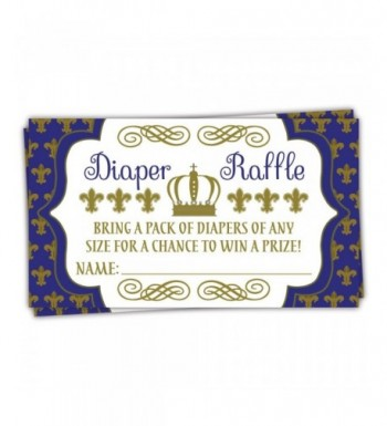 Prince Diaper Raffle Tickets Shower