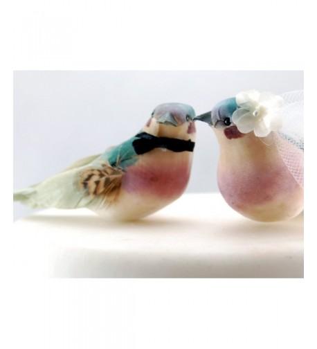Charming Love Bird Cake Topper