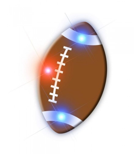Light Football Flashing Blinking 5 Pack
