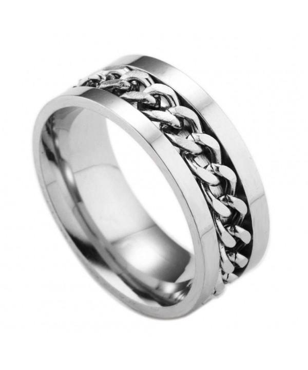 rotating Titanium Rotation Jewelry Valentines