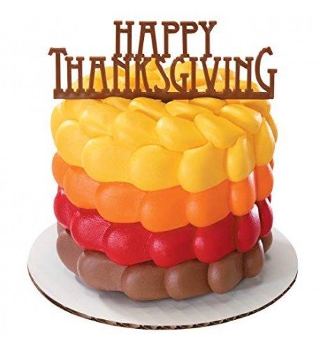 DecoPac Happy Thanksgiving Cake Pick