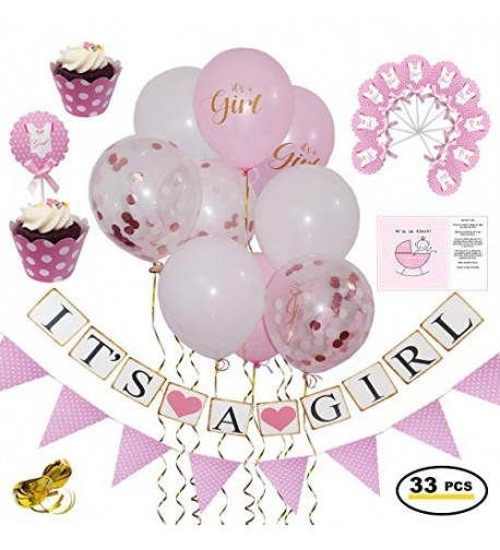 Baby Shower Decorations Girl Pink