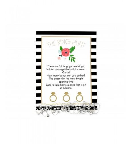Bridal Shower Plastic Diamond Engagement