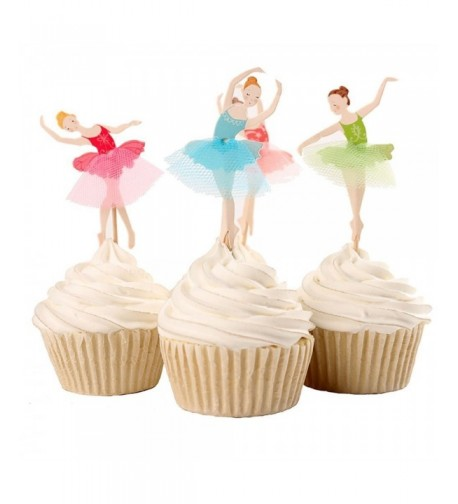 Joinor Dessert Cupcake Toppers Birthday