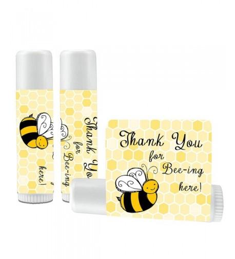 12 Bee Lip Balm Favors