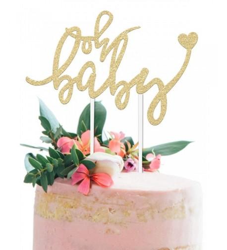 Baby Shower Cake Topper BABY