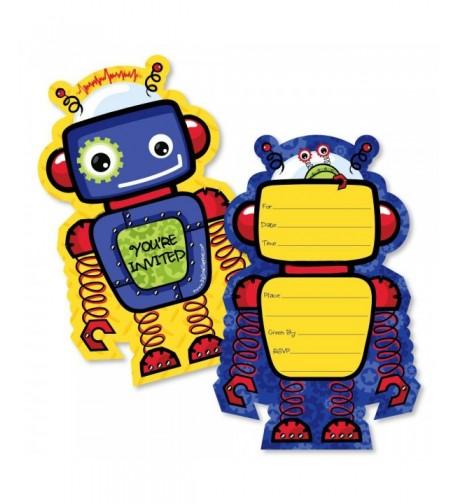 Robots Fill Invitations Invitation Envelopes