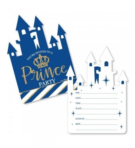 Royal Prince Charming Fill Invitations