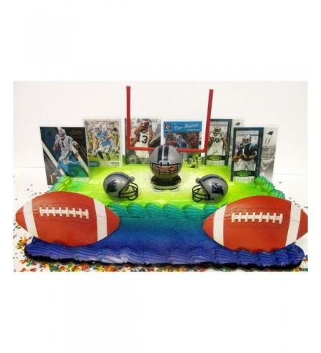 Carolina Panthers Football Birthday Cake