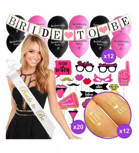 Bachelorette Decorations Balloons Engagement Accessories