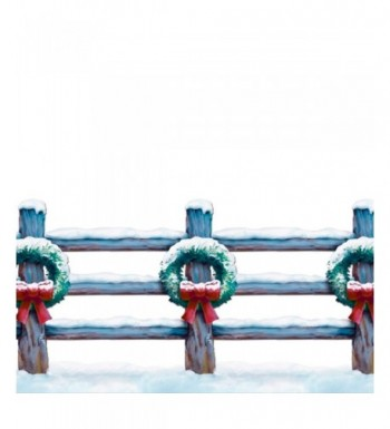 Holiday Fence Border Party Accessory