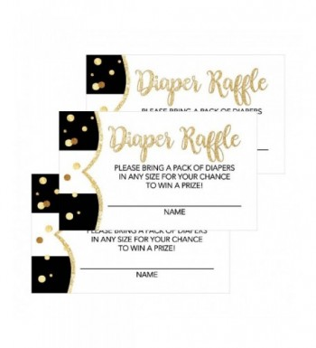Lottery Invitations Supplies Neutral Diapers