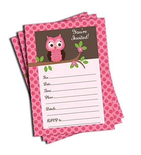 Pink Invitations Envelopes Large Size
