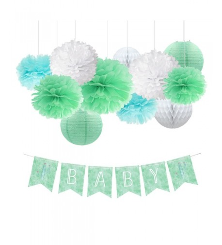 NICROLANDEE Decoration Honeycomb Watercolor Decorations