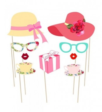 Cheap Designer Bridal Shower Party Photobooth Props Clearance Sale