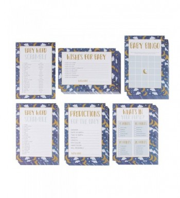 Baby Shower Game Card Packs